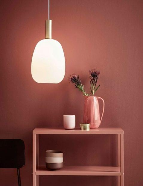 Gouden-hanglamp-witte-kap-2402ME-1