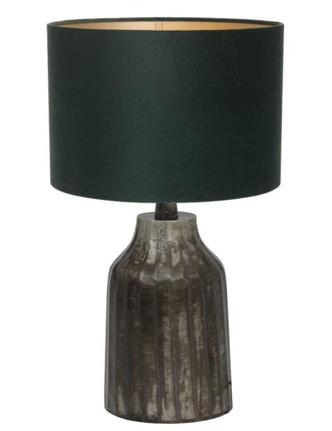 Grijze landelijke vaaslamp-9280ZW