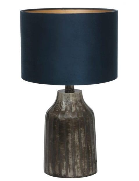Grijze landelijke vaaslamp-9281ZW