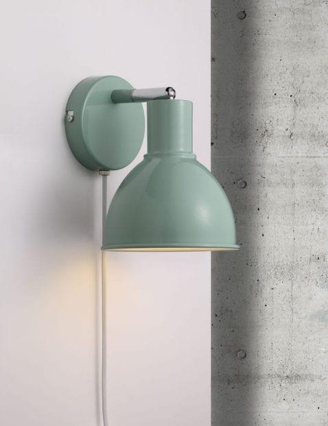 Groene-wandlamp-industrieel-2347G-3