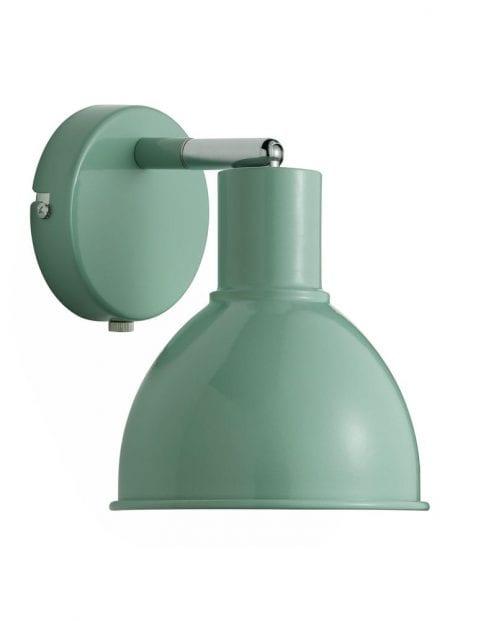 Groene wandlamp industrieel-2347G