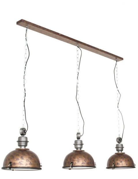 Hanglamp 3 lichts industrieel-7980B