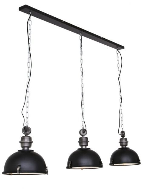 Hanglamp 3 lichts industrieel-7980ZW
