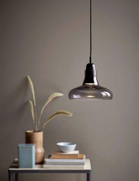 Hanglamp-hout-rookglas-2156ZW-1