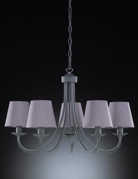 Hanglamp-kroonluchter-met-kap-1616GR-1