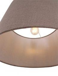 Hanglamp-met-taupe-kap-9835ST-1