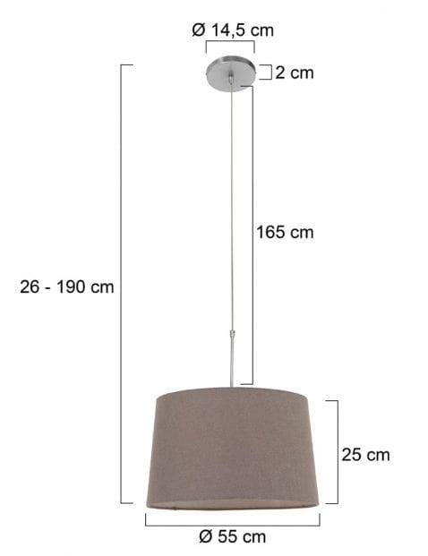 Hanglamp-met-taupe-kap-9835ST-5