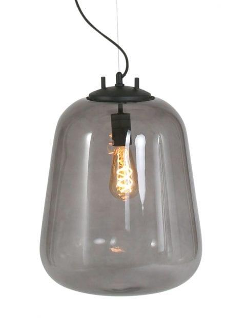 Hanglamp rookglas-2123ZW
