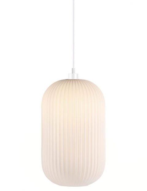Hanglamp wit glas-2327W