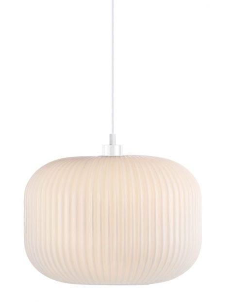 Hanglamp wit glas-2328W