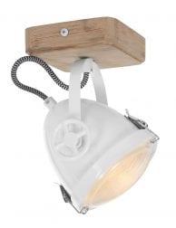 Industriele plafondlamp wit-1703W