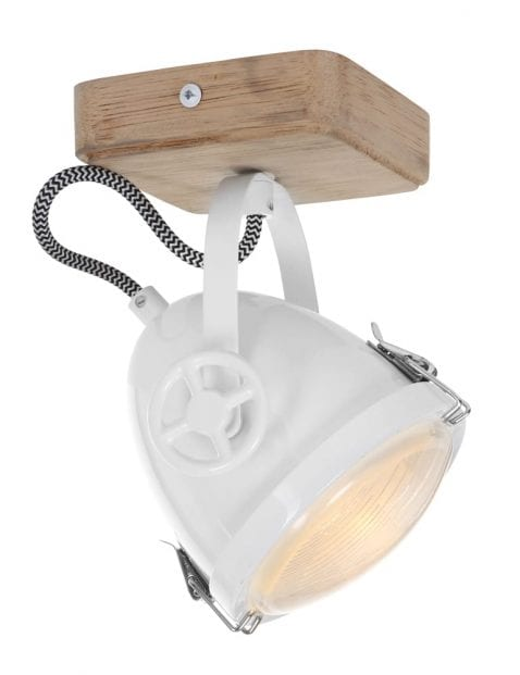 Koplamp plafondlamp Mexlite Harve wit