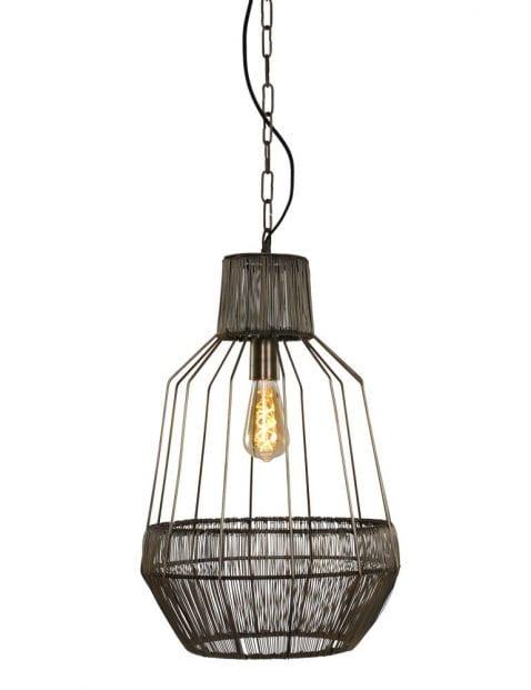 Industriele rotan hanglamp-1680BR