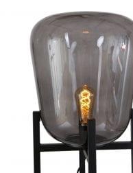 Industriele-tafellamp-rookglas-2121ZW-1