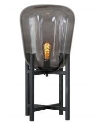 Industriele tafellamp rookglas-2121ZW