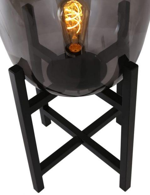 Industriele-tafellamp-rookglas-2121ZW-2