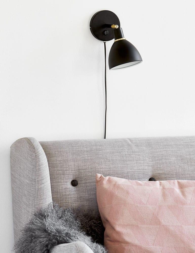 Industriele Wandlamp Zwart Met Goud Nordlux Ray Directlampen Nl