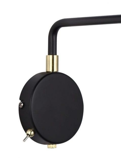 Inudstriele-wandlamp-zwart-met-goud-2408ZW-4