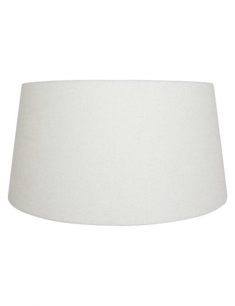 Witte lampenkap groot