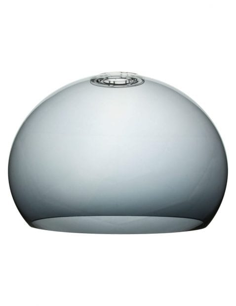 Kleine lampenkap stoffen wit-K10151S