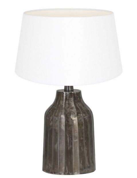 Kleine lampenvoet grijs-9286ZW