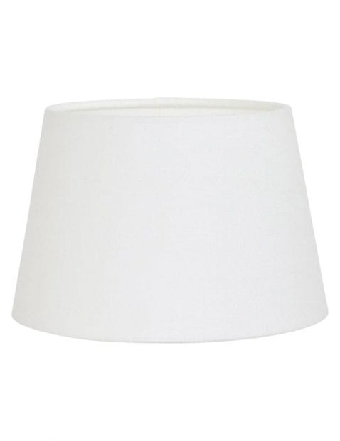 Kleine linnen lampenkap wit-K3261QS