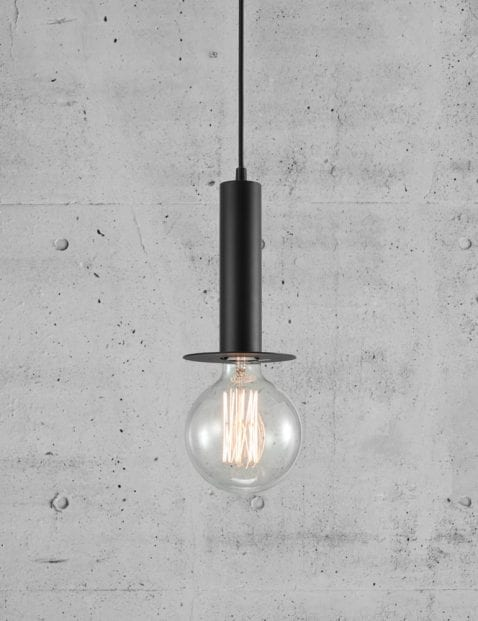 Lamp-pendel-zwart-2174ZW-5