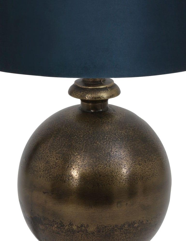 Lamp Voor Op Dressoir Velours Kap Light Living Kalym Directlampen Nl
