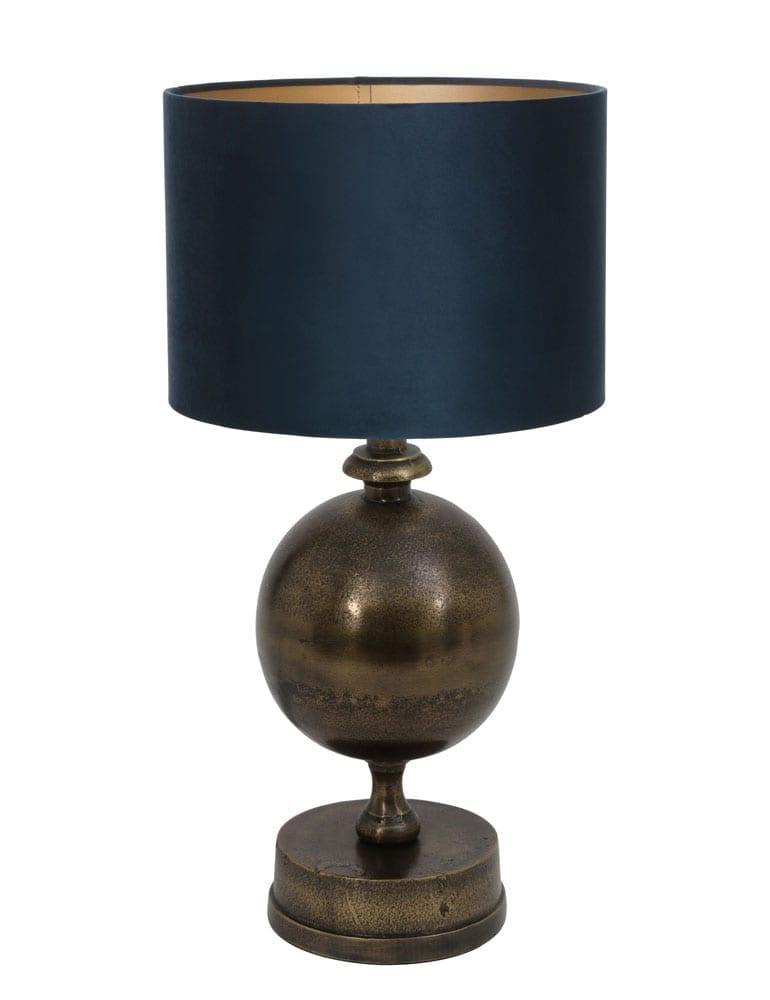 Afbeelding van Lamp voor op dressoir velours kap Light & Living Kalym