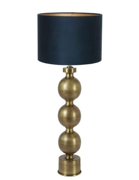 Lampenvoet met bollen-9173GO