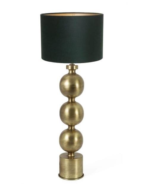 Lampenvoet met bollen-9175GO