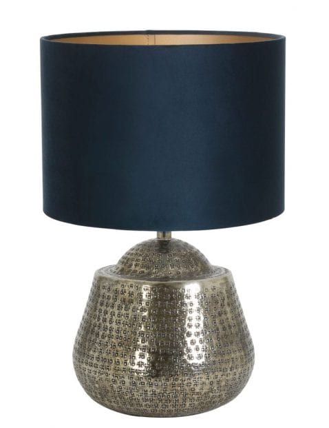 Lampenvoet zilver-9977ZI