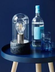 Marmeren-stolplamp-zwart-2379ZW-1