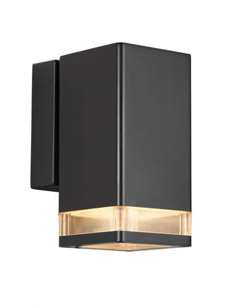 Moderne buitenlamp zwart-2192ZW