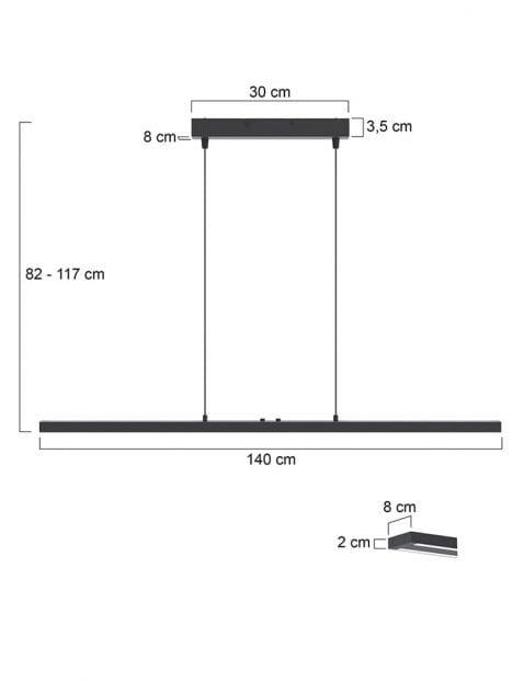 Moderne-hanglamp-eettafel-7971ZW-1