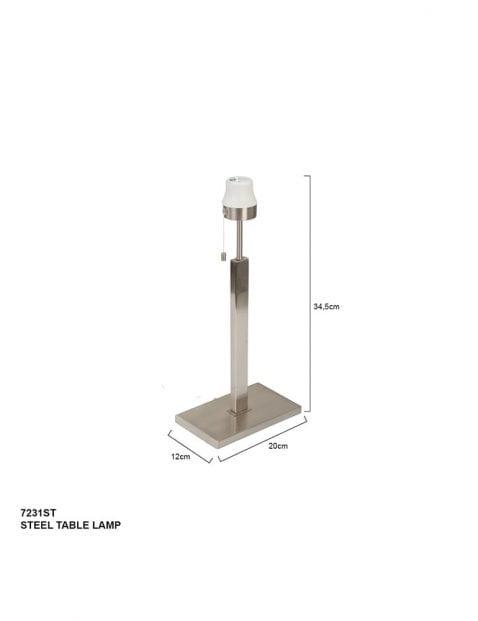 Moderne-lampenvoet-staal-7231ST-4