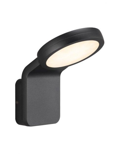 Moderne zwarte wandlamp-2324ZW