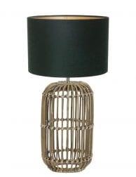 Rieten lampenvoet-9982B