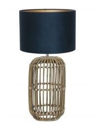 Rieten lampenvoet-9983B