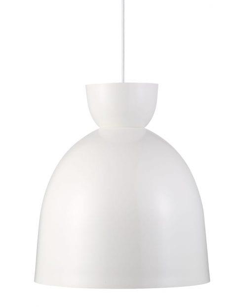 Scandinavische hanglamp wit-2161W