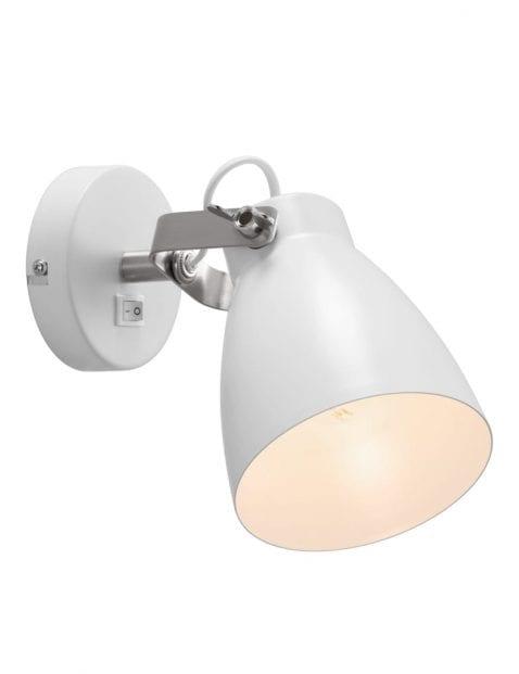 Slaapkamer wandlamp wit-2313W