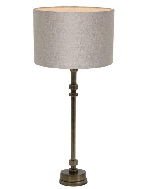 Smalle klassieke lampenvoet-9214BR