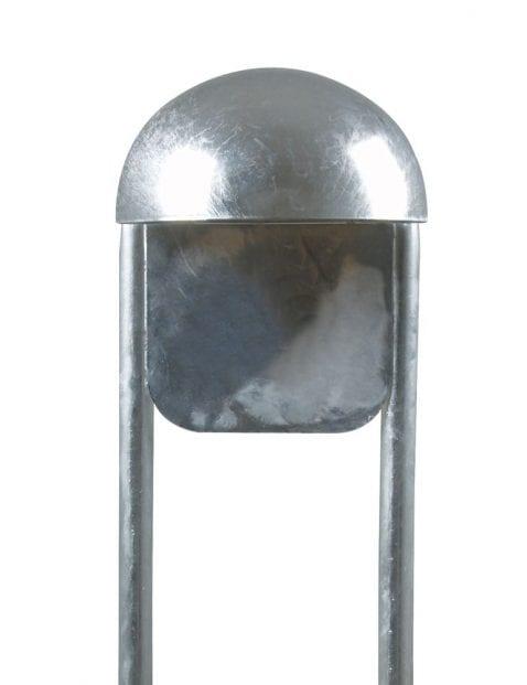 Staande-buitenlamp-staal-met-bol-2371ST-1