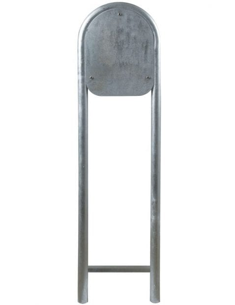 Staande-buitenlamp-staal-met-bol-2371ST-3