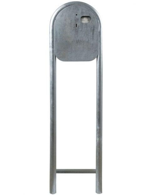 Staande-buitenlamp-staal-met-bol-2371ST-4