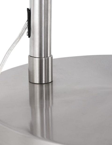 Stalen-booglamp-met-taupe-kap-9849ST-4