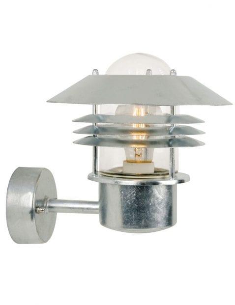 Stalen retro wandlamp-2395ST