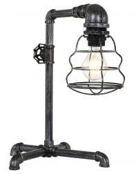 Stoere industriele tafellamp-1609ST