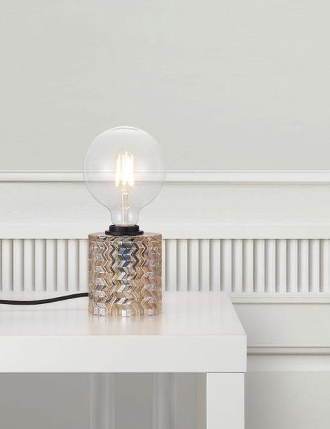 Tafellamp-met-donker-glas-2309B-5