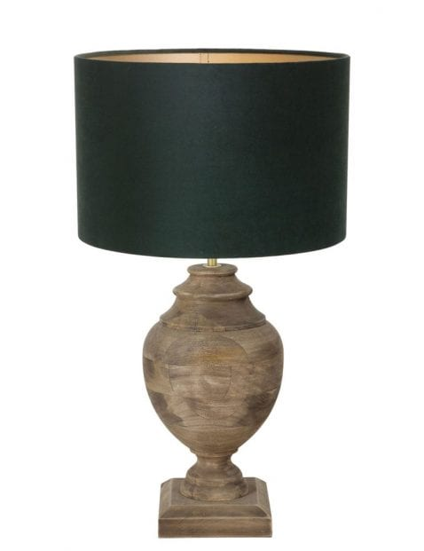 Vaaslamp hout-9991B